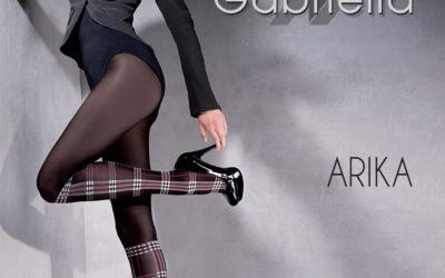 Arika gemusterte Strumpfhose, 60 DEN, Gabriella 7,00 €